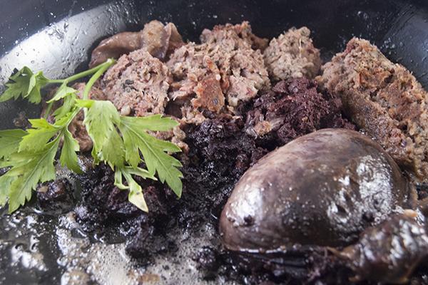 frische champignons braten