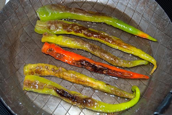 Gebratene türkische Pepperoni