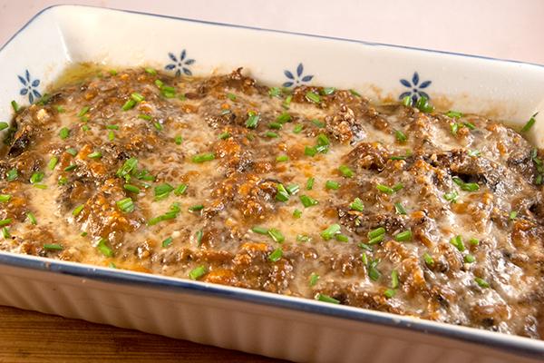 Kartoffel Pilz Auflauf Nudelheissundhos