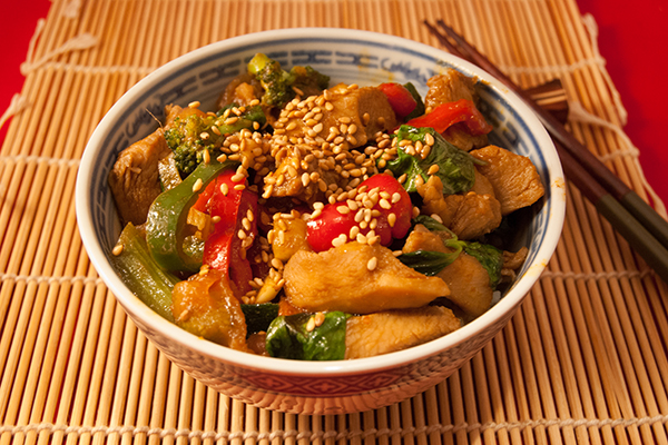 Thailändisches Chicken-Curry