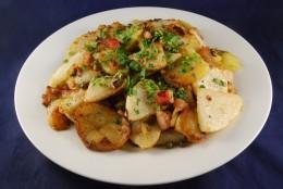 Kohlrabi-Kartoffel-Pfanne
