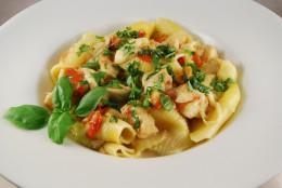Kabeljau-Tomate-Mozzarella-Ragout