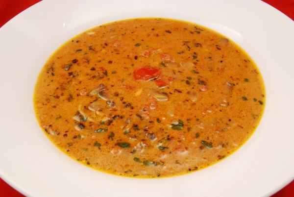 Leckere, sämige Suppe
