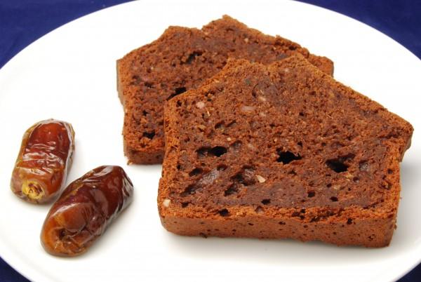 Saftiger, wohlschmeckender Kuchen, mit wenig Süße