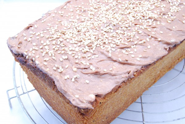 Sesam Mandel Kuchen Nudelheissundhos