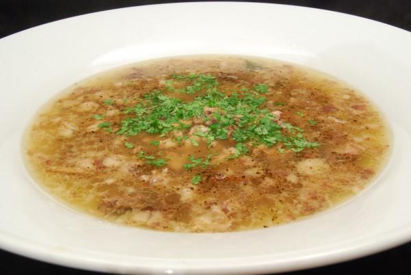 Eine sehr leckere Suppe