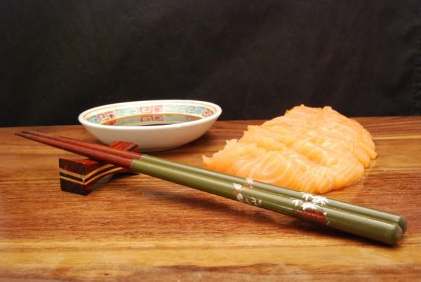 Leckeres Sashimi