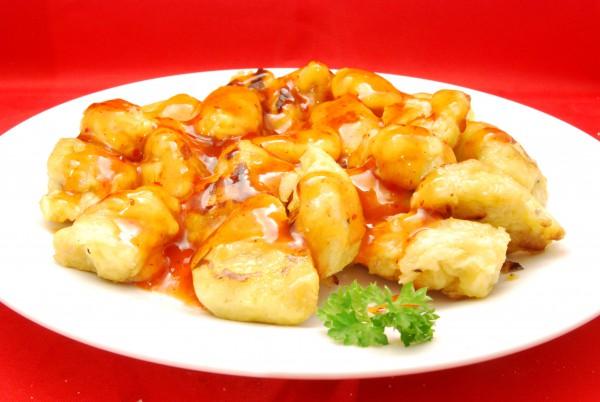 Leckere Gnocchi mit Sauce