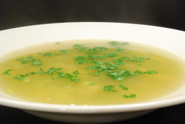 Schmackhafte Suppe