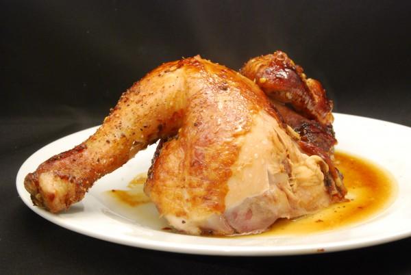 Kross gebratenes Hähnchen