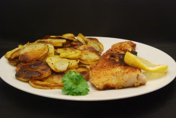 Fisch mit Kartoffeln
