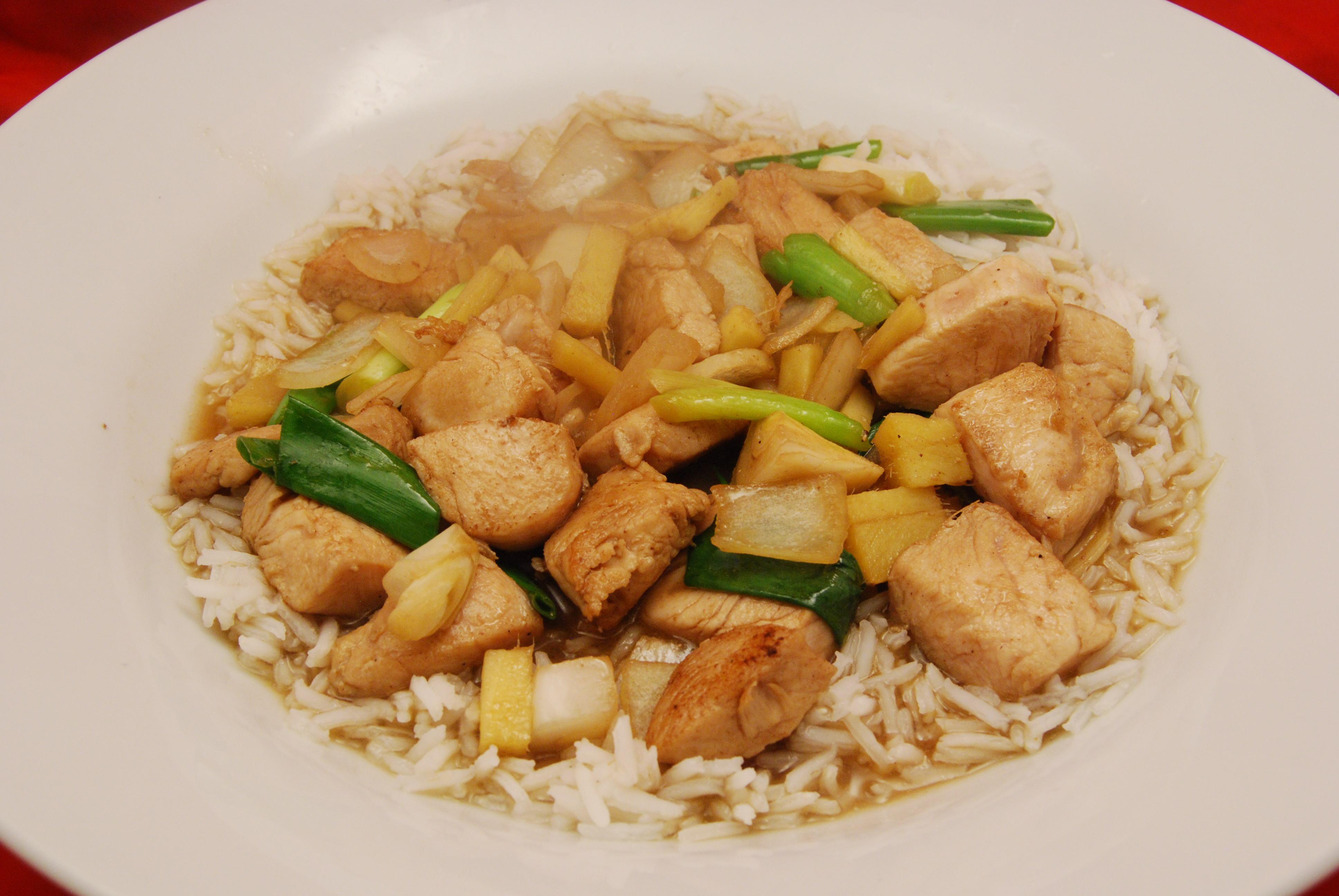 Leckeres asiatisches Gericht