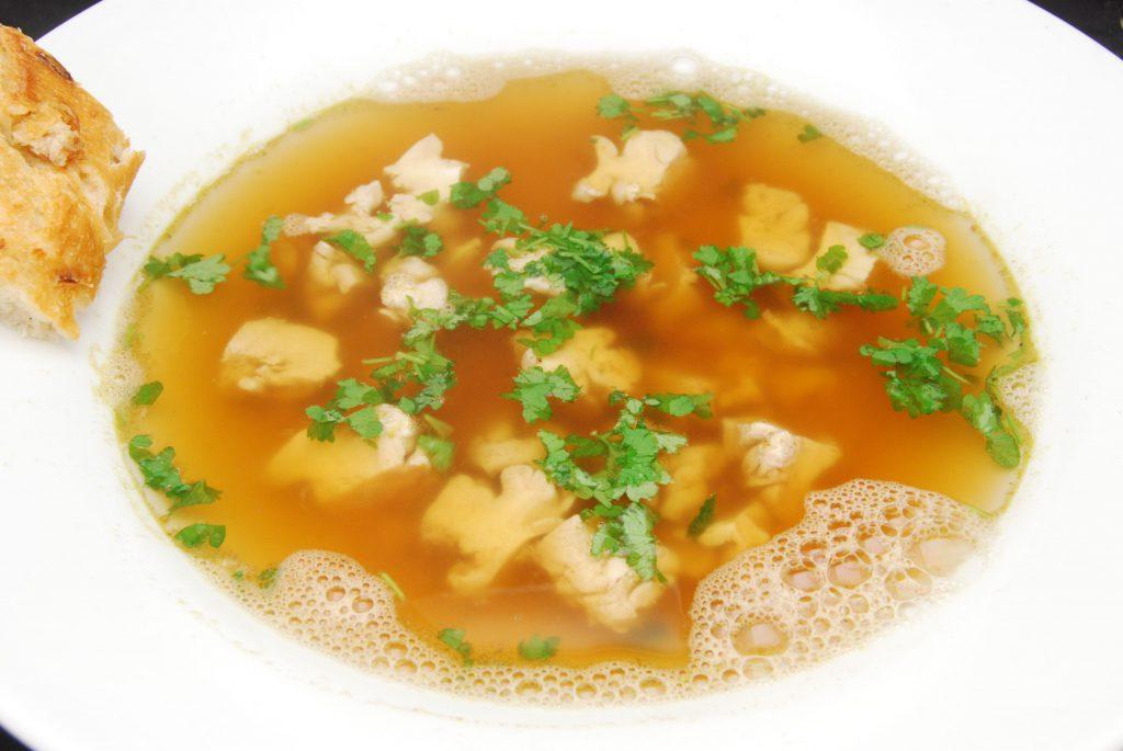 Sehr schmackhafte Suppe