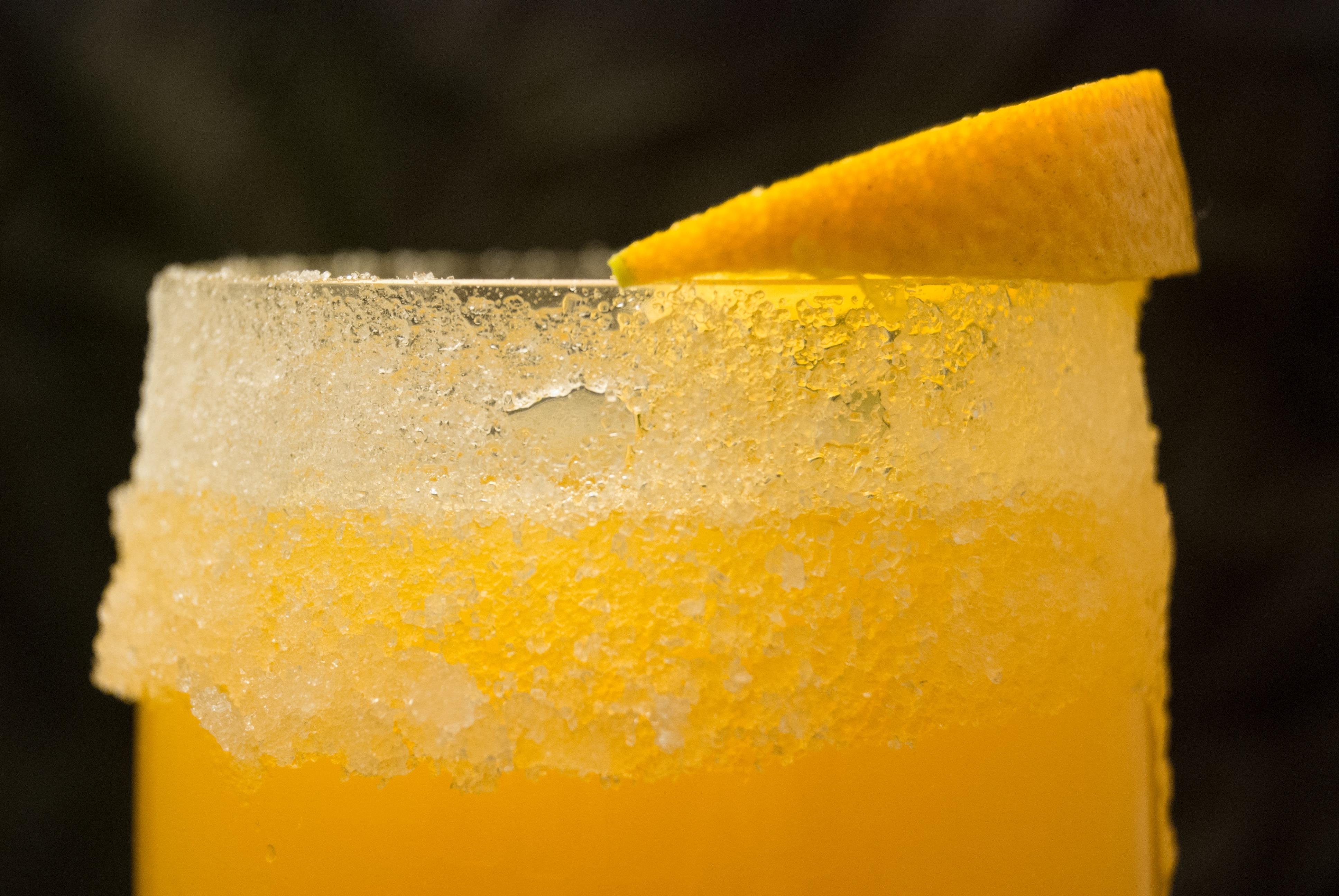Whiskey mit Orange