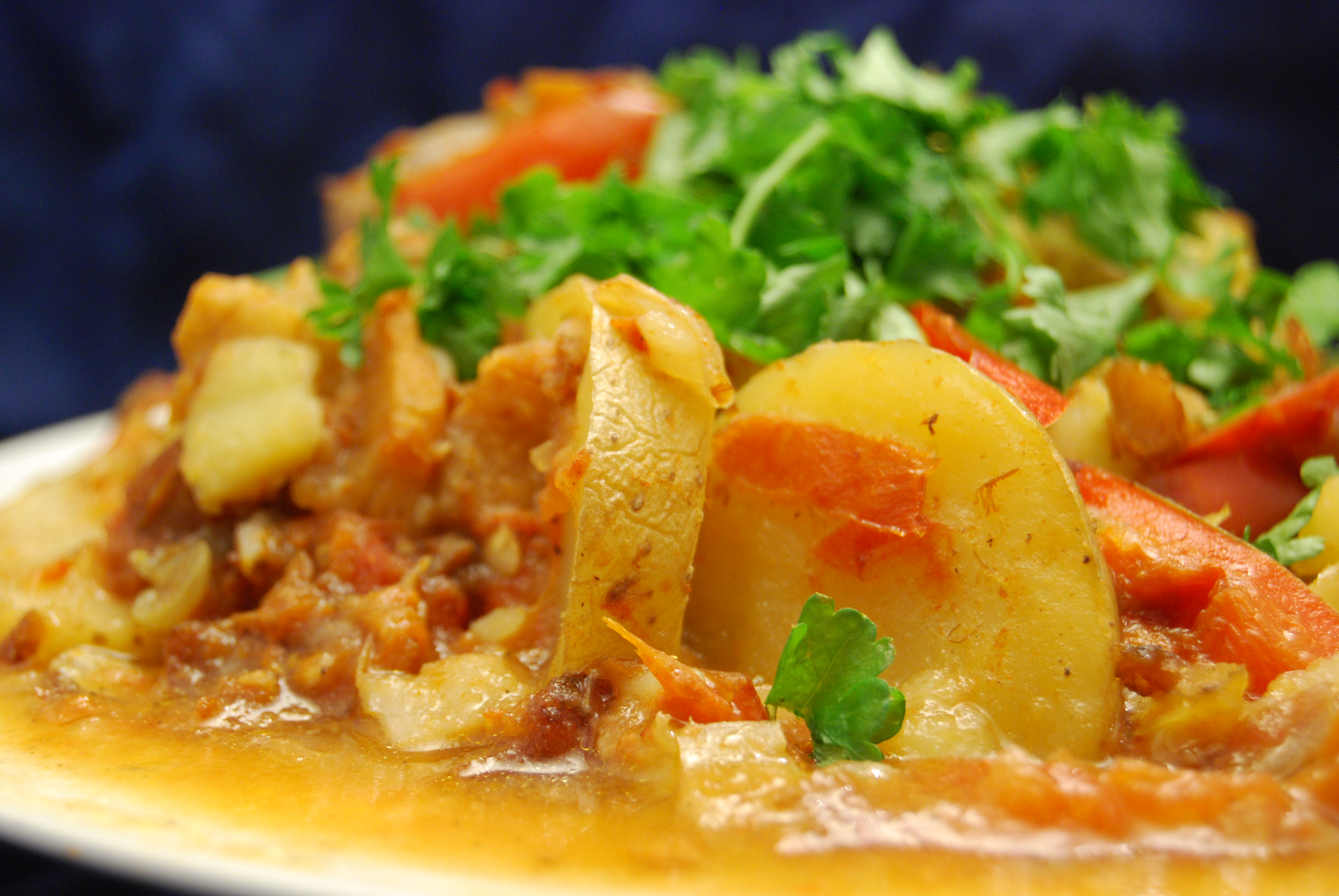 Fisch-Gemüse-Eintopf