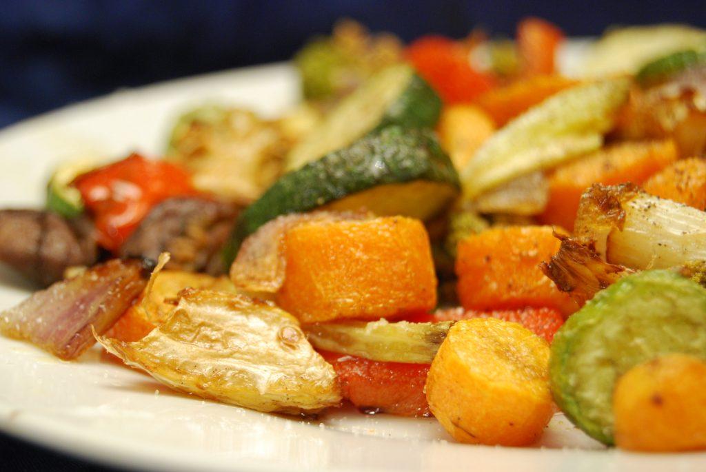 Veganer Gemüseteller