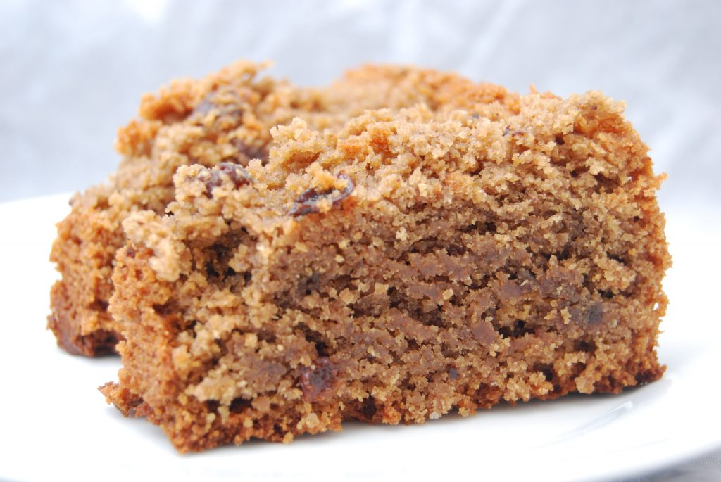 Schokolade-Rosinen-Sesam-Hirse-Kuchen