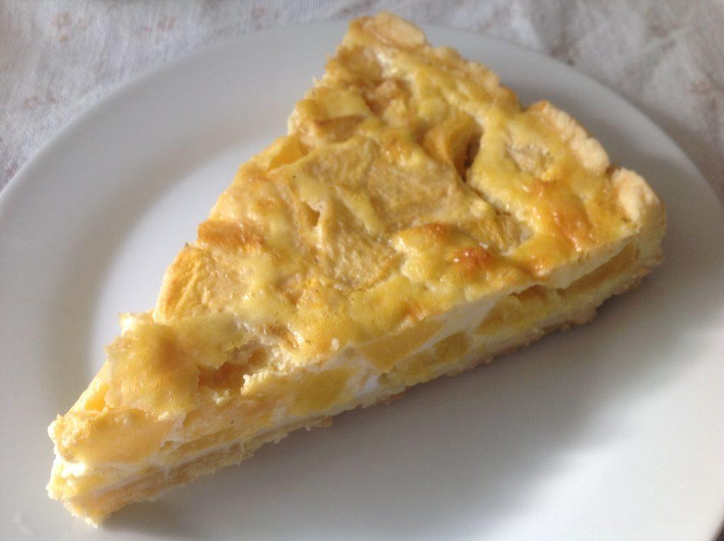 Pfirsich-Tarte