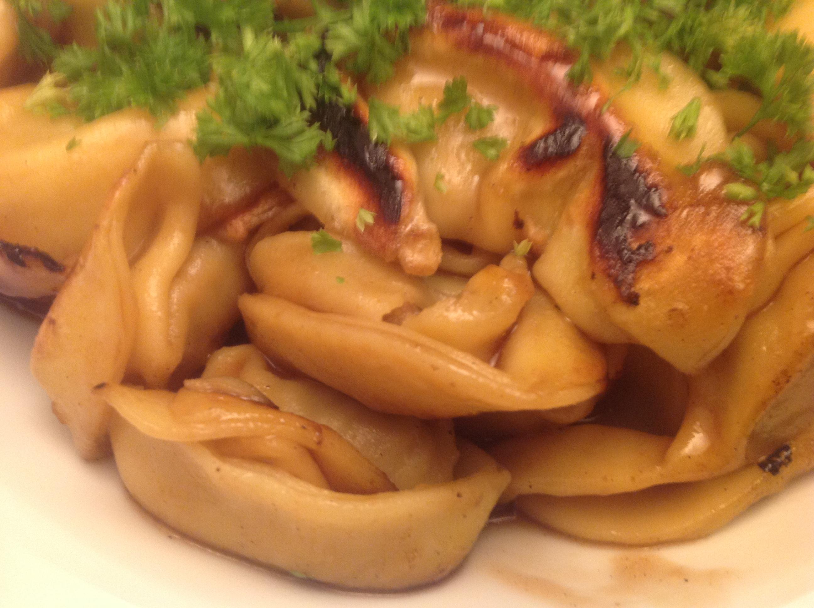 Tortellini mit Teriyaki-Sauce