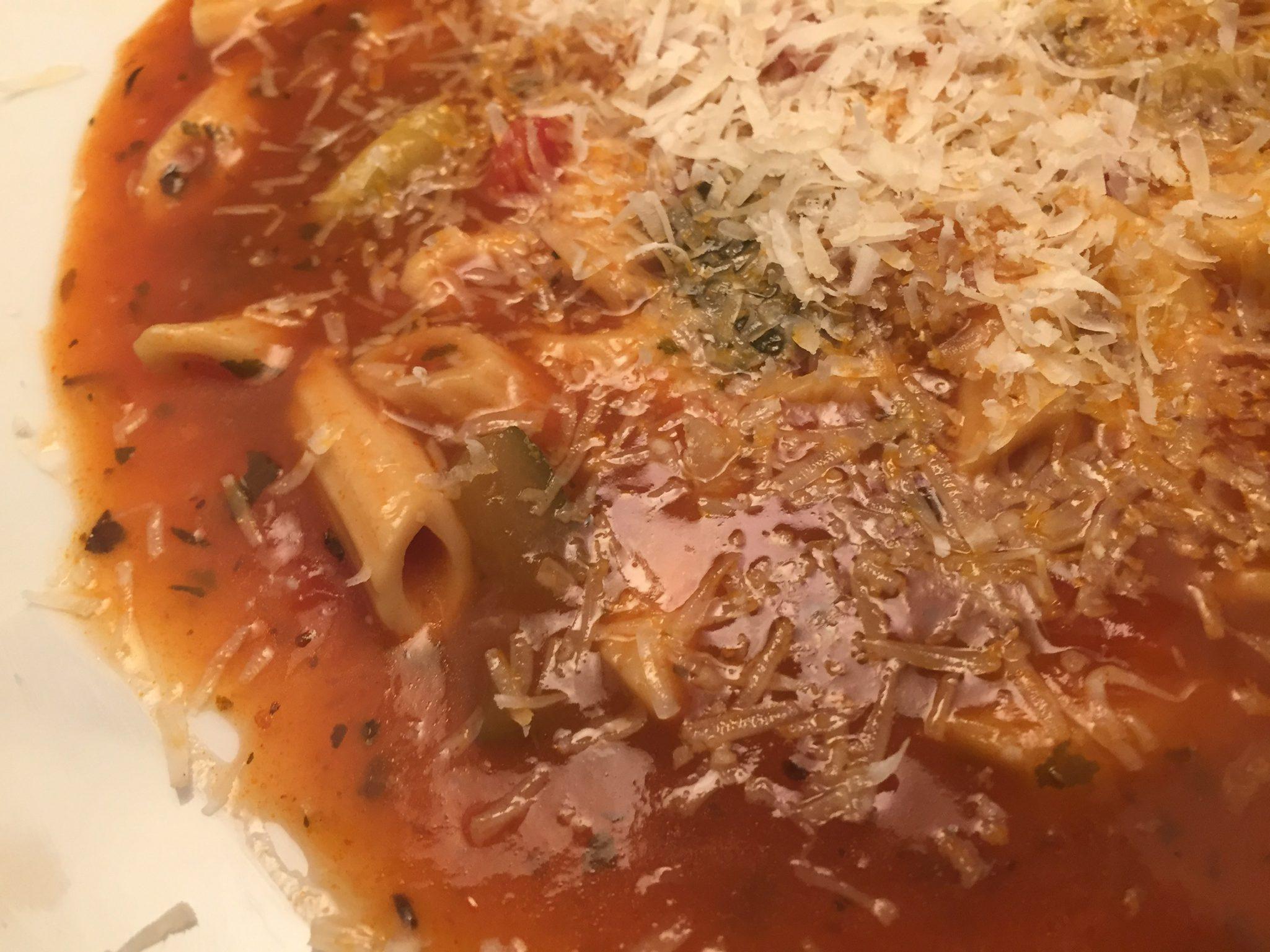 Tomaten-Nudel-Topf