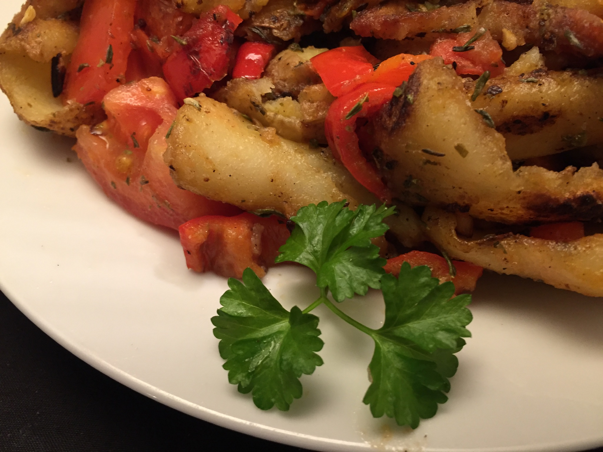 Provençalische Kartoffel-Gemüse-Pfanne