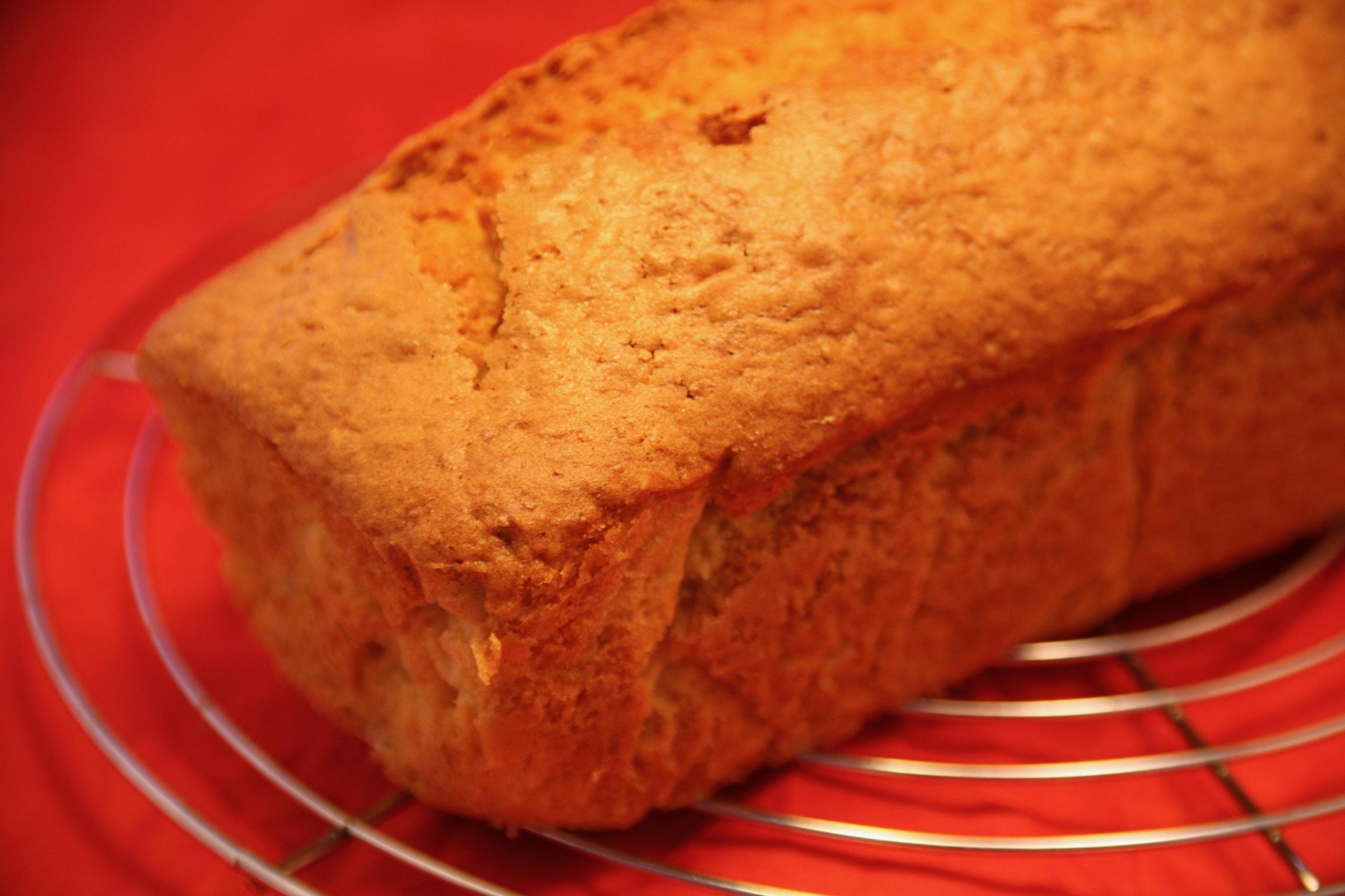 Pastinaken-Kuchen mit Ahorn-Sirup