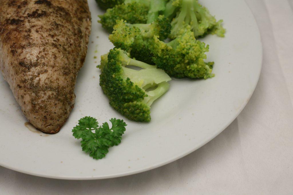 Putenfilet mit Brokkoli