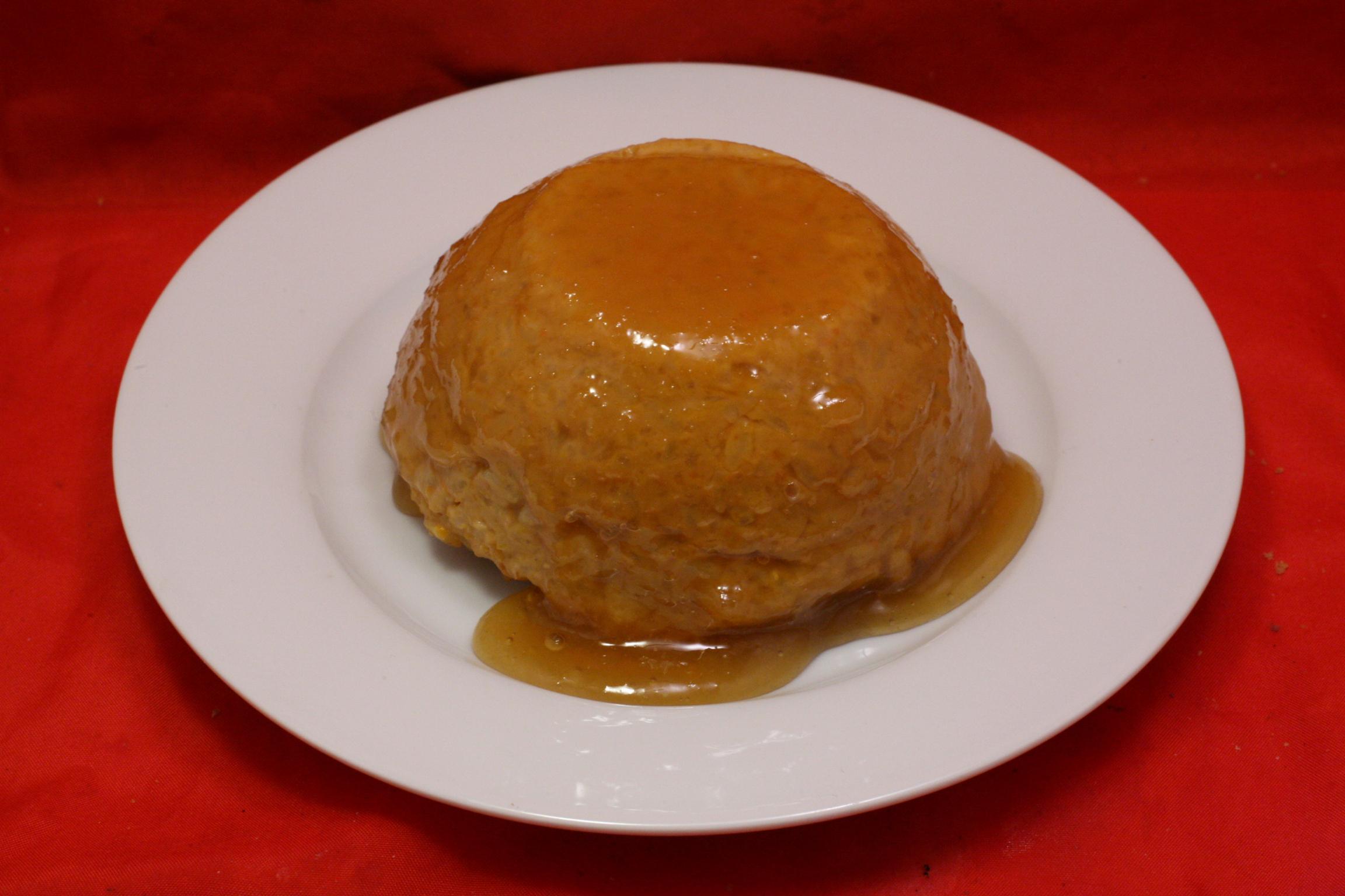 Kürbis-Milchreis mit Honig