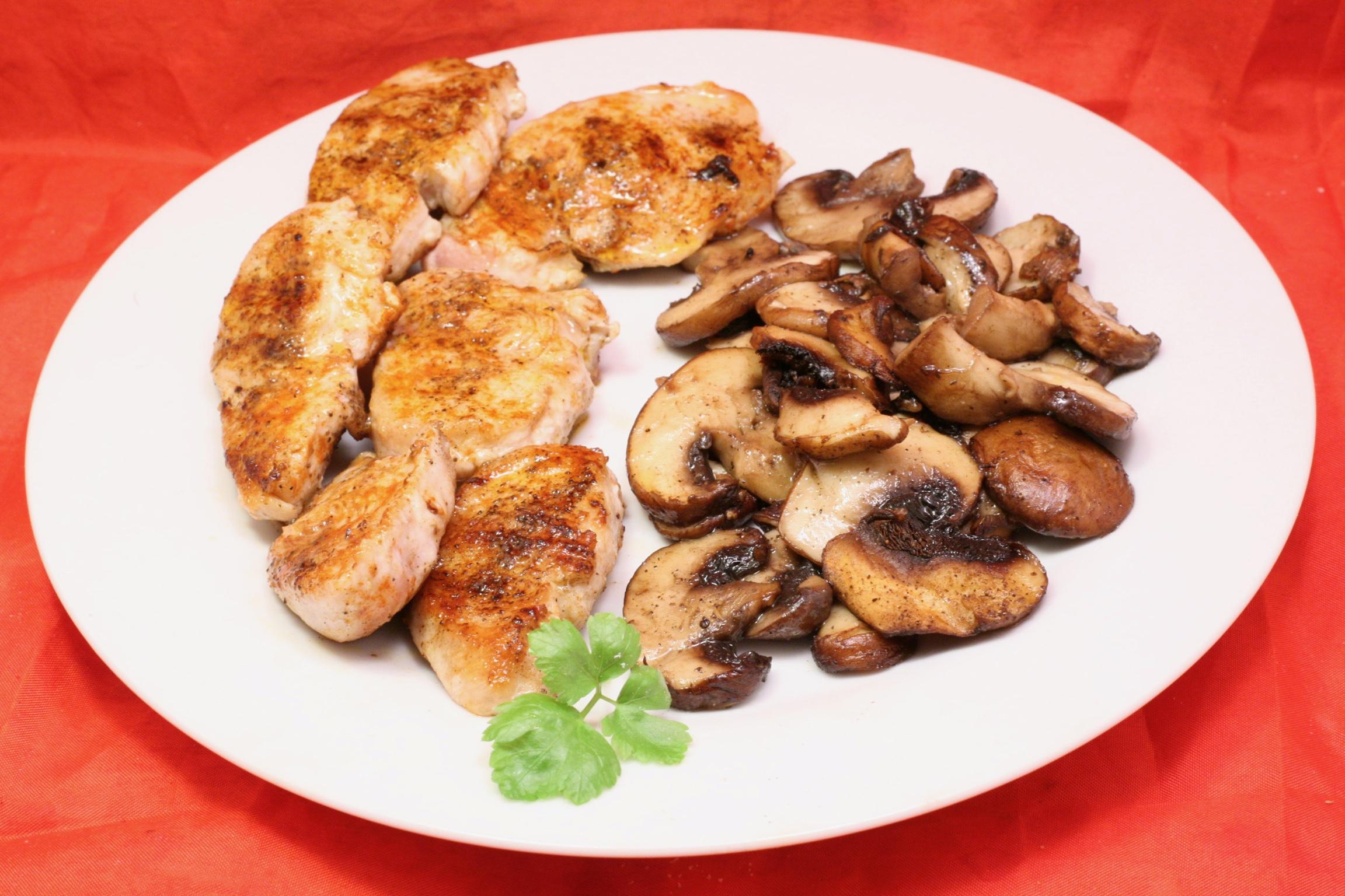 Grill-Pfannen-Gericht