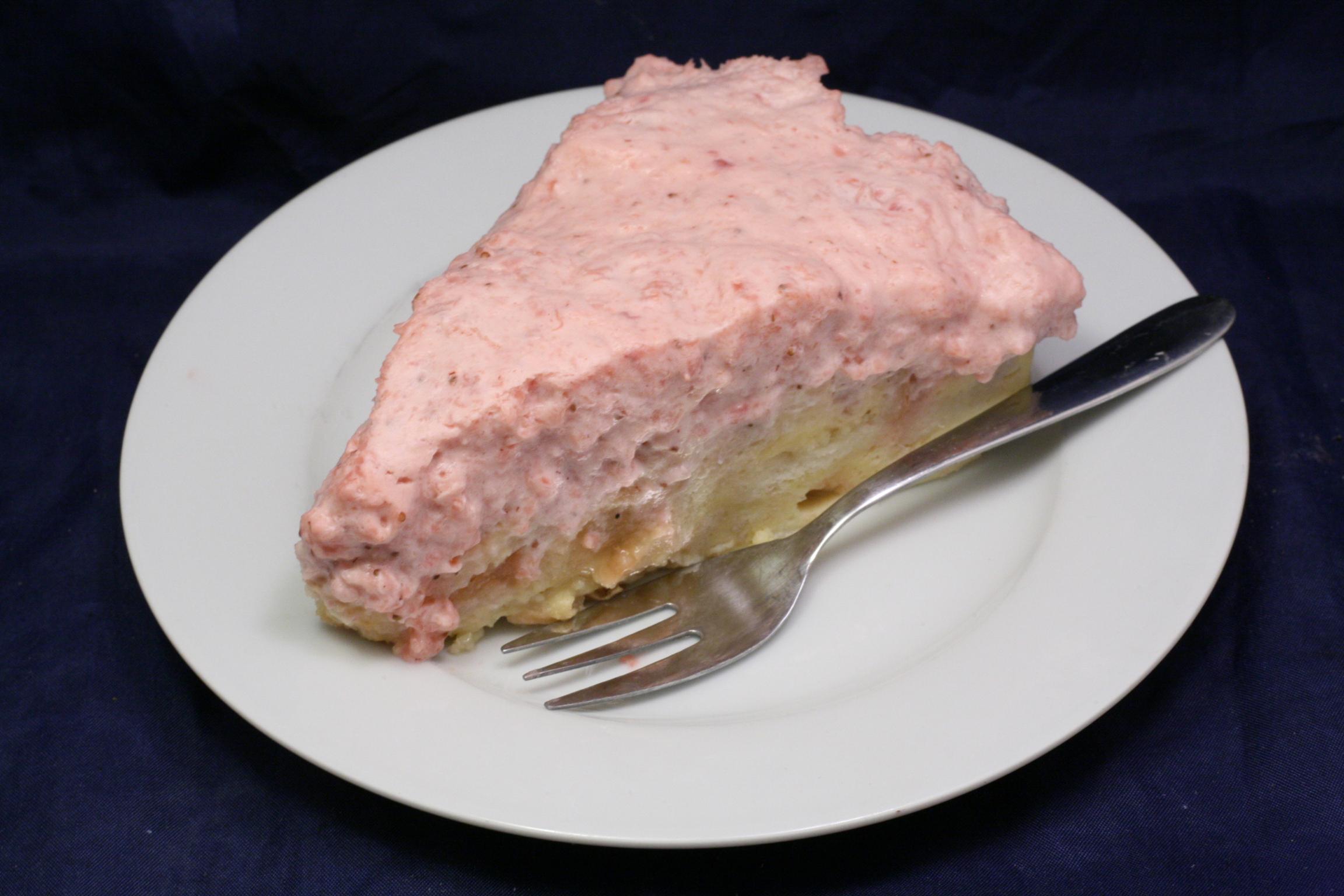 Birne-Erdbeer-Torte