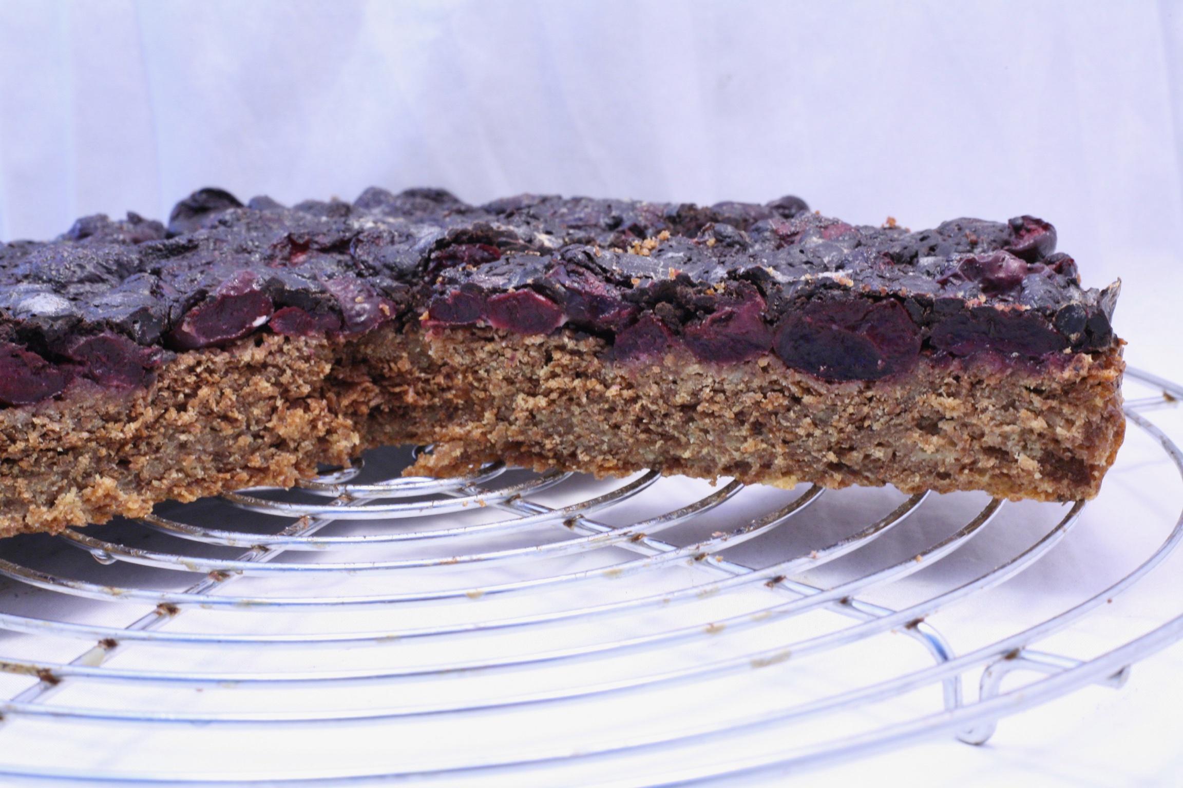 Kirsch-Schokolade-Tarte