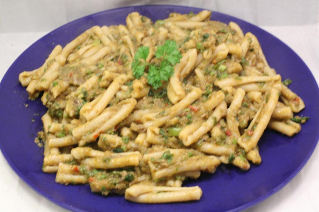 Casarecce mit Acocado-Pesto