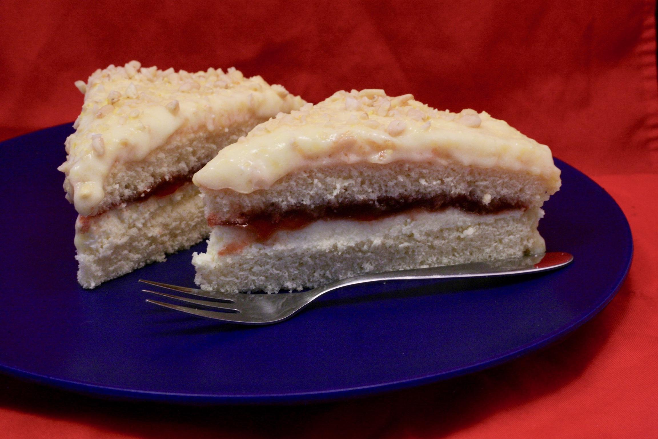 Buttercreme-Torte