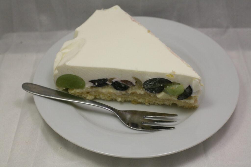 Trauben-Quark-Sahne-Torte