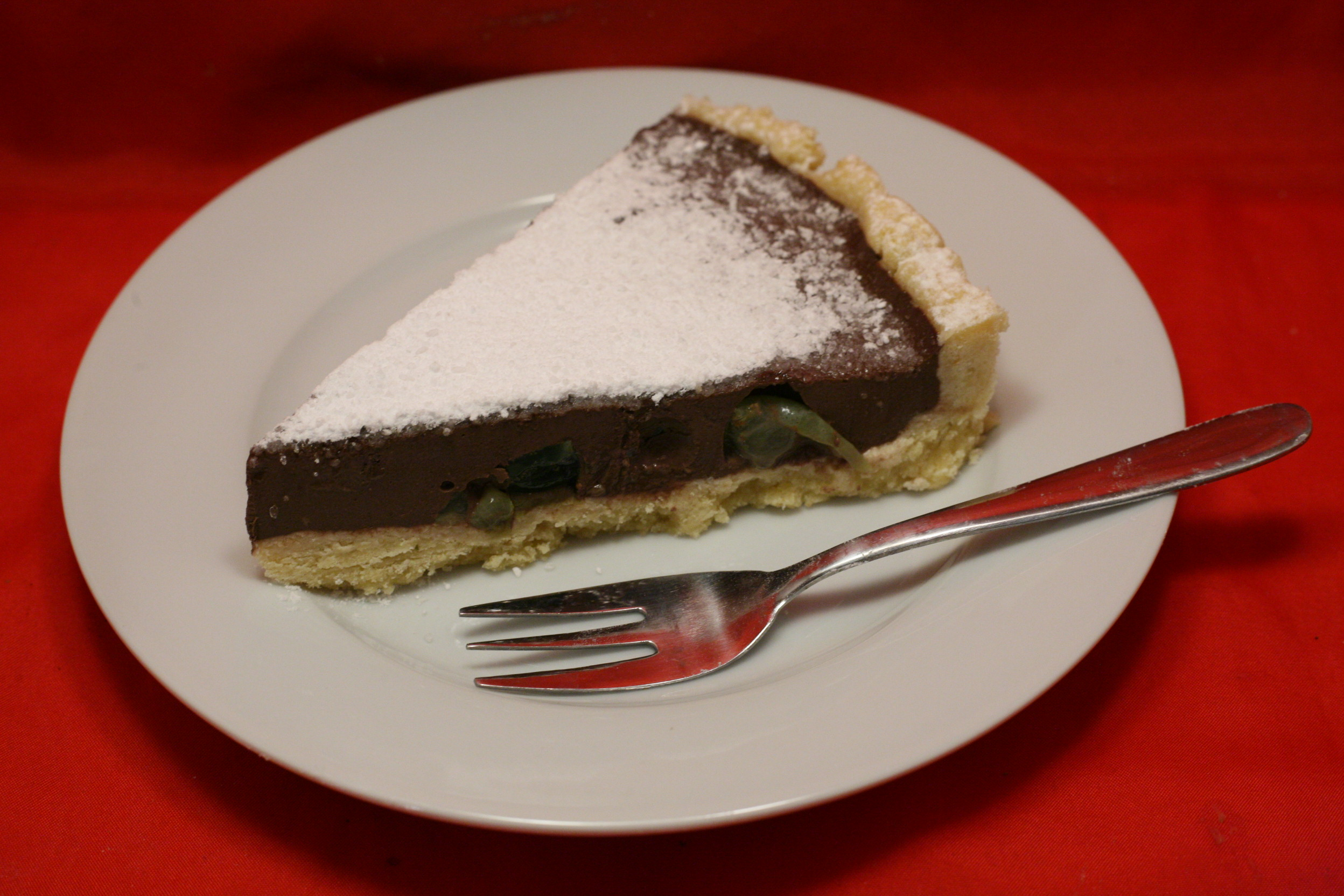 Trauben-Schokolade-Joghurt-Torte