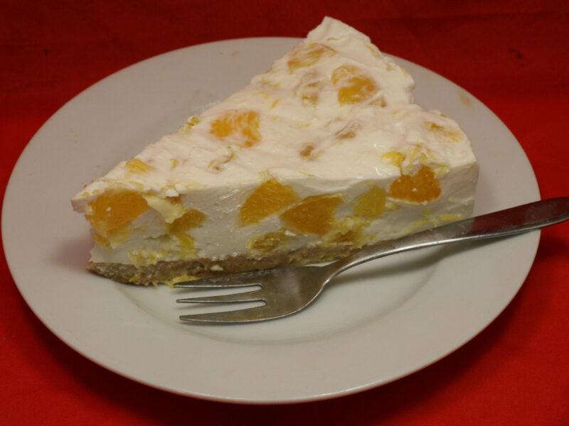 Orangen-Skyr-Torte
