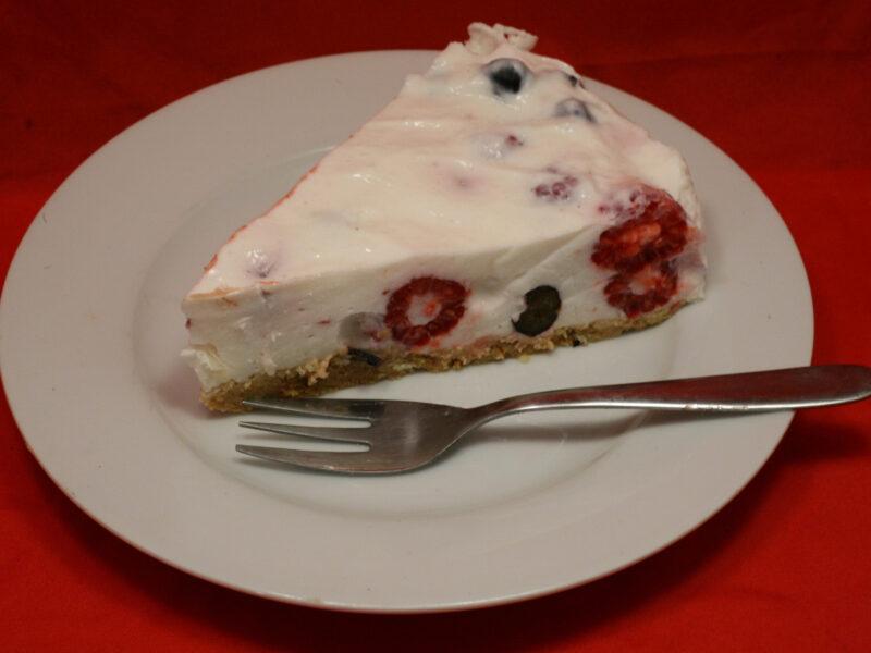 Himbeer-Heidelbeer-Torte