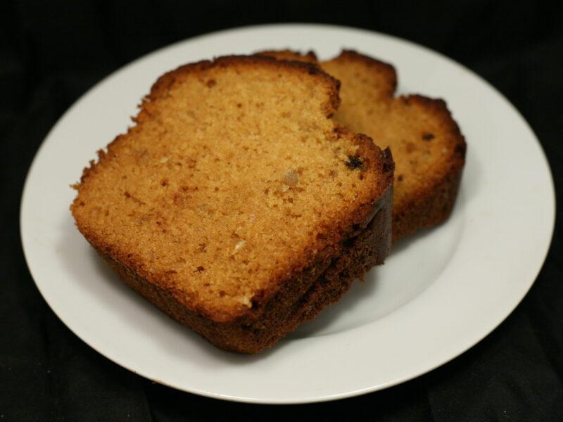 Dinkel-Gebäck-Honig-Kuchen