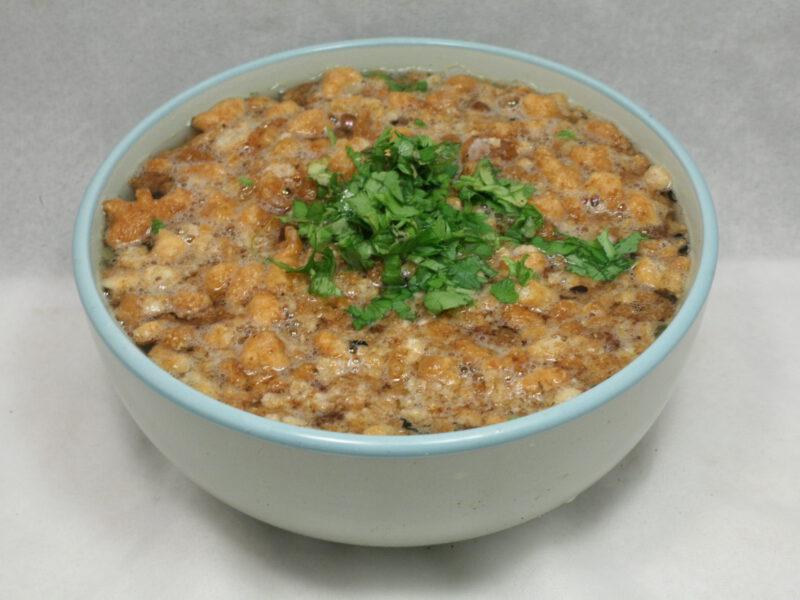 Pfannkuchenerbsen-Suppe
